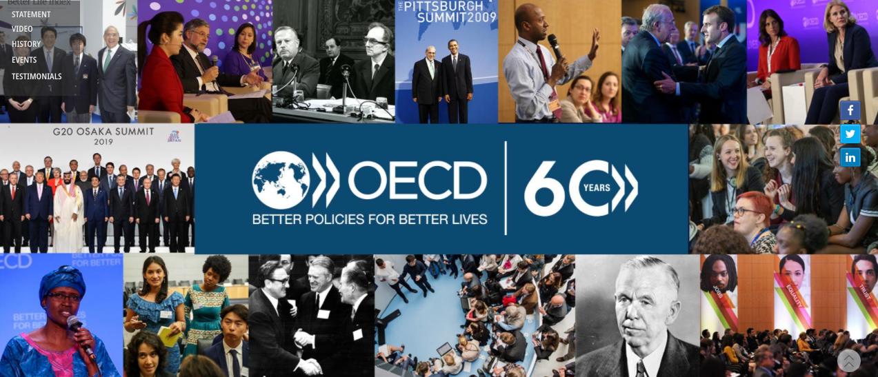Nuestra Embajada presente en la celebración virtual de los 60 años de la firma del Convenio OECD