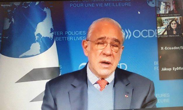 SE Issamary Sánchez participe dans le cadre de la délégation du Panama au Foro Global 2020 de la OCDE.