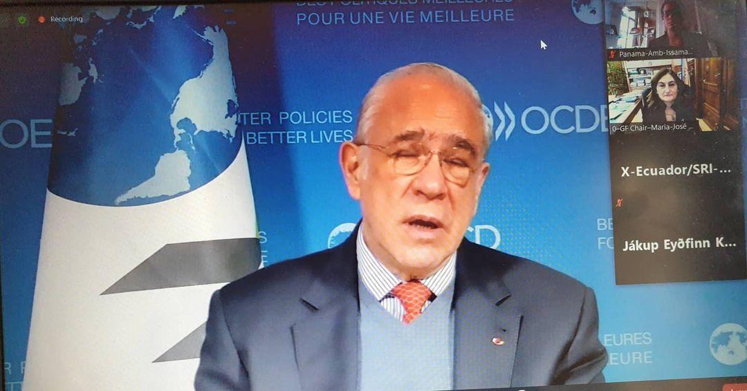 SE Issamary Sánchez participó como parte de la delegación de Panamá en el Foro Global 2020 de la OCDE.