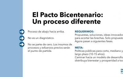 Panameño, participa del#PactoDelBicentenario #CerrandoBrechas , un proceso diferente