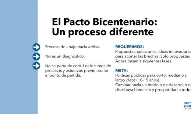Panameño, participa del#PactoDelBicentenario #CerrandoBrechas, un proceso diferente.