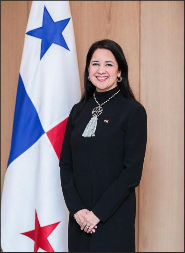 Dayra Carrizo Castillero, Viceministra de Relaciones Exteriores.
