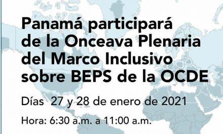 SE Issamary Sánchez participa como parte de la delegación de Panamá en la XI Plenaria del Marco Inclusivo sobre Beps de la OECD.