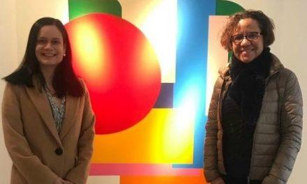 """""""Entre líneas"""", una exposición del artista panameño Cisco Merel en la galería Adda & Sarto de París."""