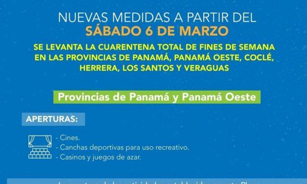 Nuevas medidas en Panamá.