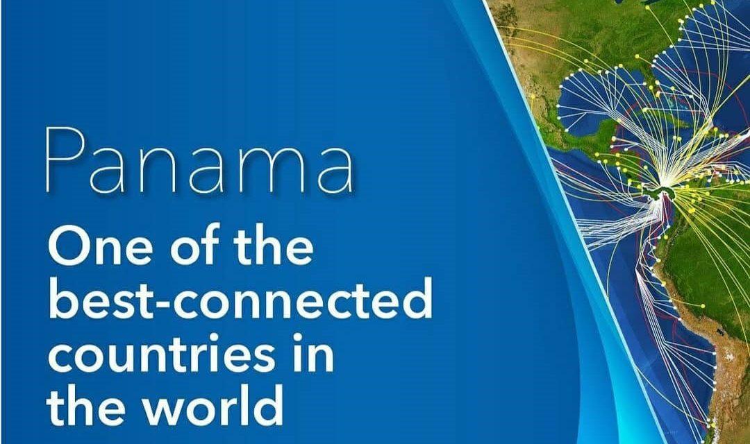 Le Panama est l´un des pays les mieux conectés au monde! #panamaenfrance #unidoslohacemos #elverdaderolibrodepanama