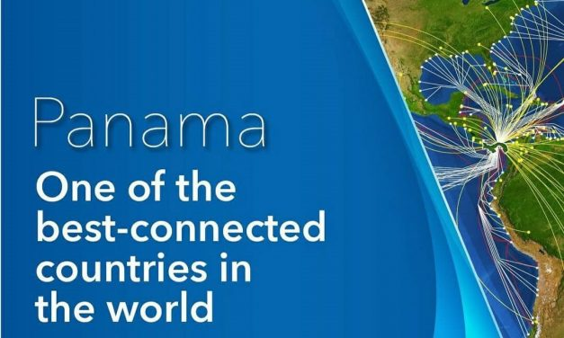 Panamá es uno de los países mejor conectados del mundo! #panamaenfrance #unidoslohacemos #elverdaderolibrodepanama
