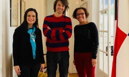 Nous avons reçu la visite du musicien français Mathieu Longchamps qui nous a fait part de ses projets au Panama.