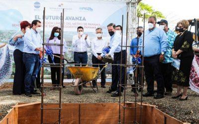 El Presidente Cortizo inauguró la construcción de la línea 3 del Metro de Panamá.
