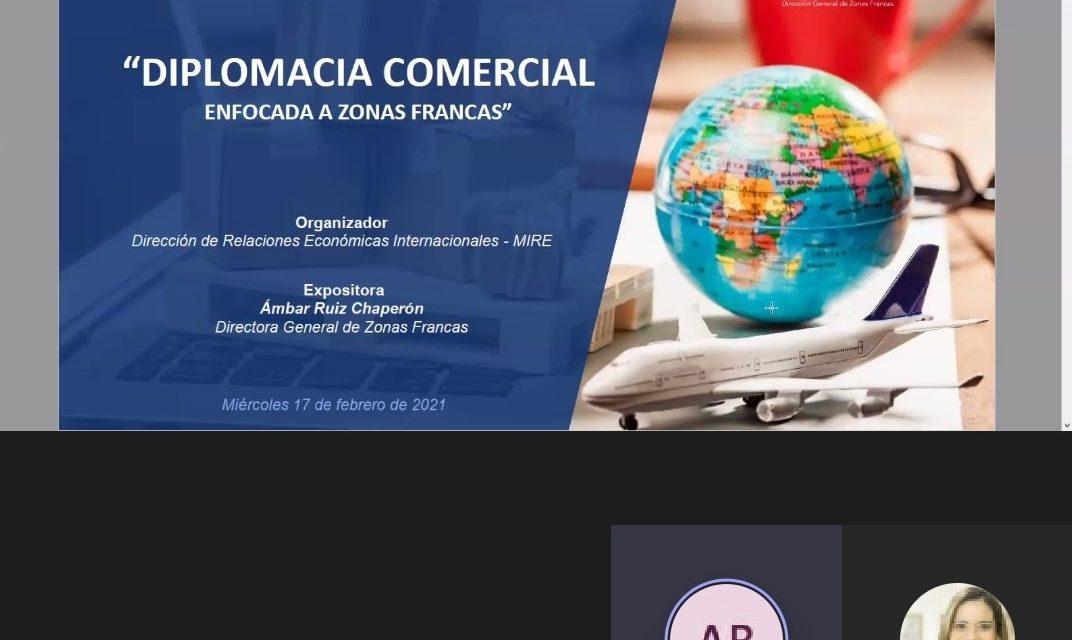 Participación de nuestra Embajadora en Foro sobre Estrategias e instrumentos para la promoción de las inversiones en Panamá.