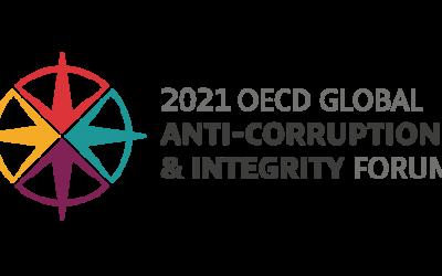Notre Ambassadrice fait partie de la délégation panaméenne au Forum mondial de l'OCDE sur la lutte contre la corruption et l'intégrité 2021.