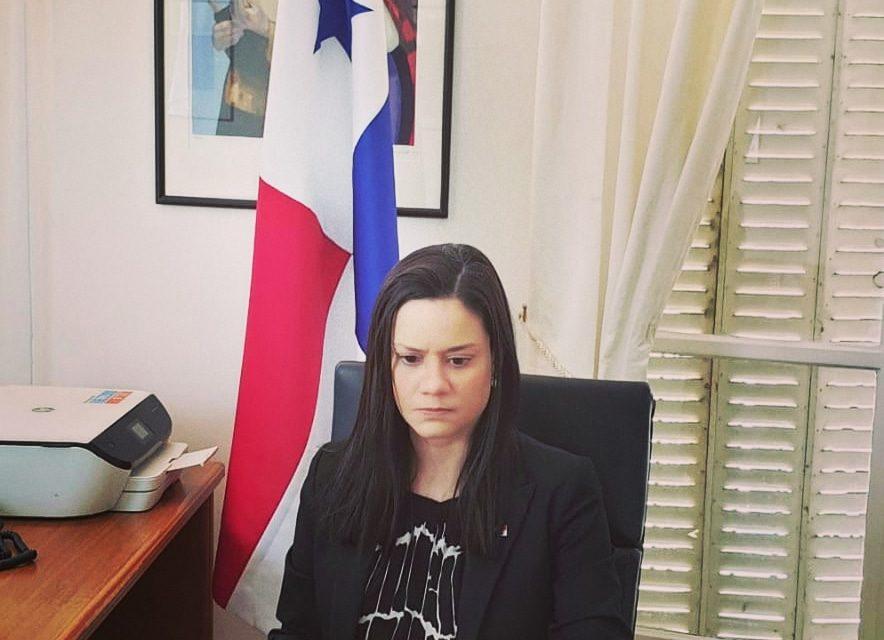 SE Issamary Sánchez participó como Expositora en el Consejo OECD, en la Agenda 2030 para Desarrollo Sostenible.