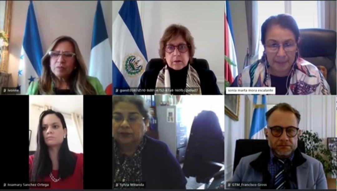 Reunión de Embajadores de países miembros del SICA.