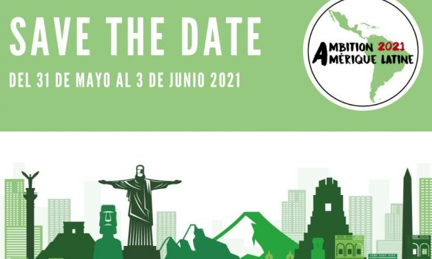 Inscripción al evento de Ambición América Latina 2021.