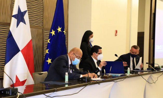 Panamá firma MOU con UE en materia fiscal y ambiental.
