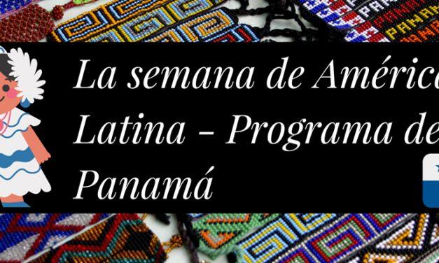 Nuestra Agenda de actividades para la Semana de América Latina y del Caribe en Francia.