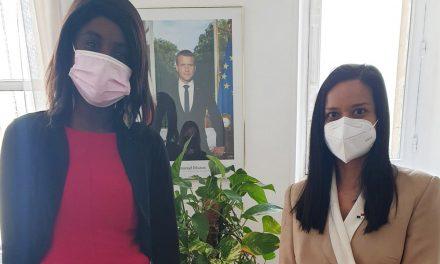 Excellente rencontre avec Cécile Ondoa, Conseillère pour les Amériques de la Présidence de la République Française.