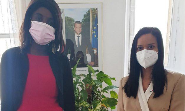 Excelente encuentro con Cécile Ondoa, Asesora de las Américas de la Presidencia de la República de Francia.