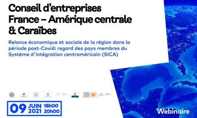 """Webinar sobre """"La recuperación económica y social de la región en el período post-covid: Visión de los países miembros del Sistema de Integración Centroamericana (SICA)"""""""