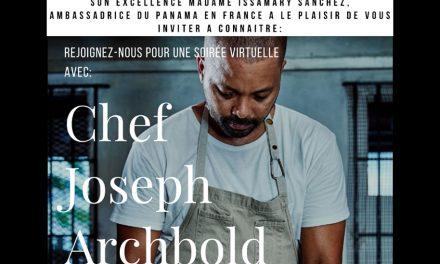 Presentación del Atelier de Gastronomía Virtual con el Chef Joseph Archbold 🇵🇦
