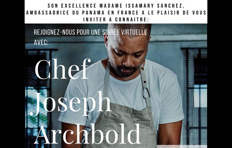 Atelier de Gastronomía Virtual Chef Joseph Archbold 🇵🇦