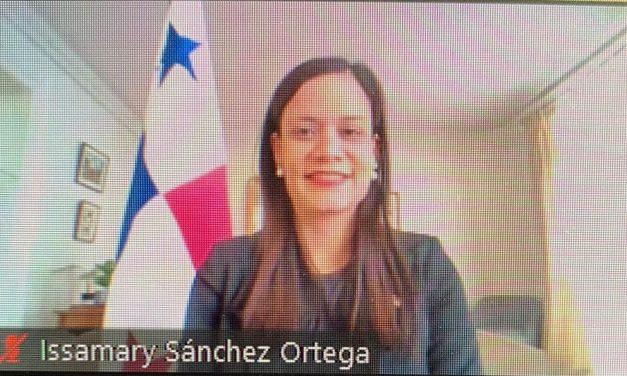 SE Issamary Sánchez participó en foro del Medef y los Embajadores de los países miembros del SICA sobre reactivación económica.