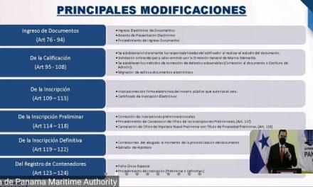 SE Issamary Sánchez participó del Conversatorio con las Firmas de abogados, organizado por la Dirección General de Marina Mercante de la AMP.