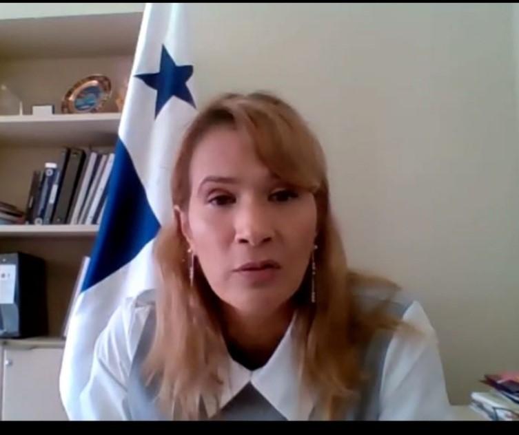 """Yill Otero, Directora de Cooperación Internacional de nuestra Cancillería, participó del """"Forging Regional and International Partnerships for the post-Covid world"""" de la OCDE."""