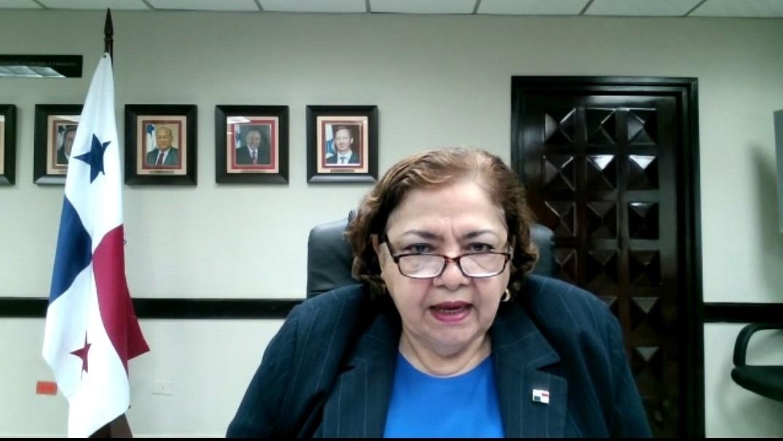 Acompañamos a la Vice Ministra de Economía y Finanzas, Enelda Medrano, en foro de la OCDE donde conversó sobre la experiencia de Panamá en la recuperación de la pandemia.
