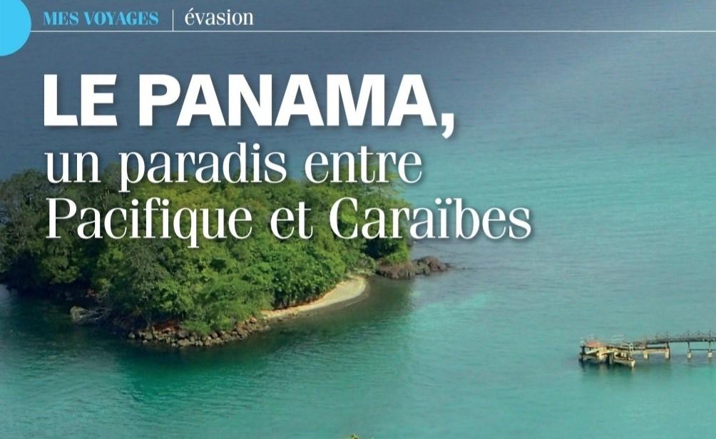 """Artículo sobre Panamá en la revista francesa """"Pleine Vie"""", con el apoyo de nuestra Embajada."""