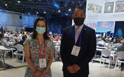 Presidimos la Delegación de Panamá ante el Congreso Mundial de la Naturaleza de la UICN.