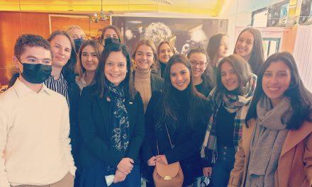 Conversatorio con estudiantes de la Universidad Sciences Po de París sobre Panamá y su relación con Francia.