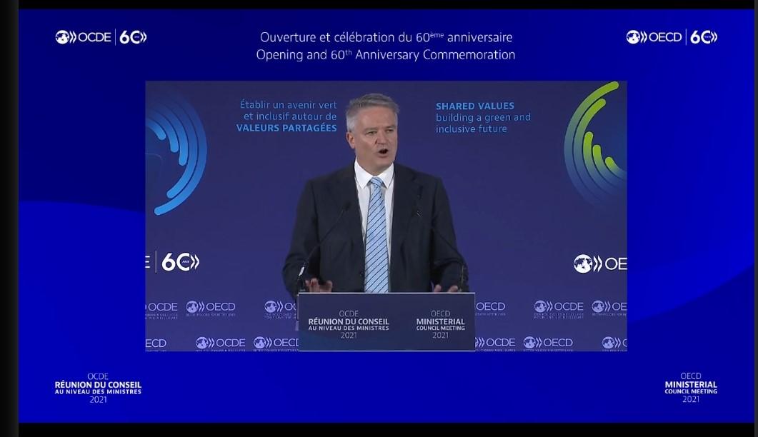 Participamos de la Reunión del Consejo Ministerial de la OCDE.