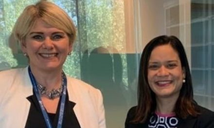 Sostuvimos reunión con la nueva Directora del Centro de Desarrollo de la OCDE, Ragnheiður Elín Árnadóttir.